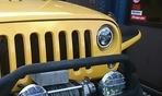 アンリミテッドJK36にハーレー風LEDヘッドライト